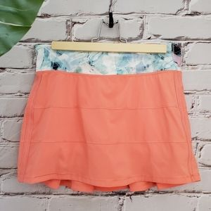 Lululemon Pace Rival Skirt Plum Peach Multi 6 Tall
